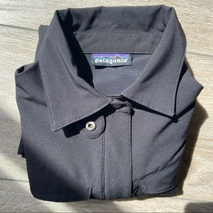 Patagonia Black Soft Shell Lightweight Jacket